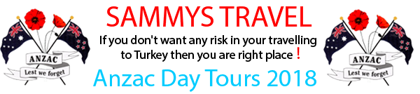 Anzac Day Tours 2018 Turkey