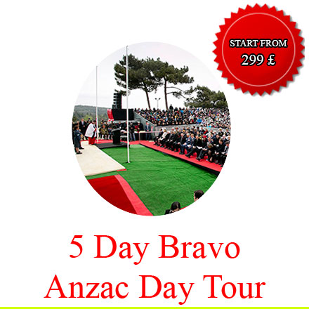 5day anzac day tours