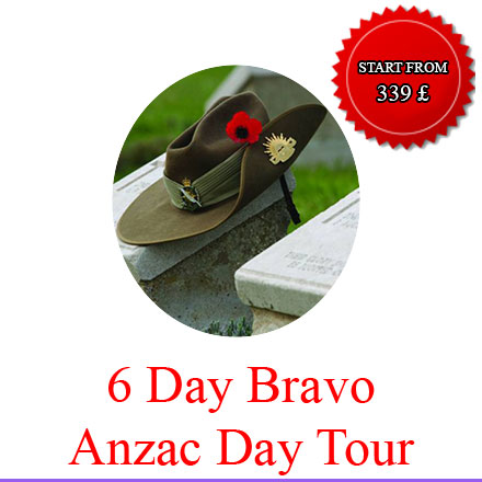 6 day anzac day tours